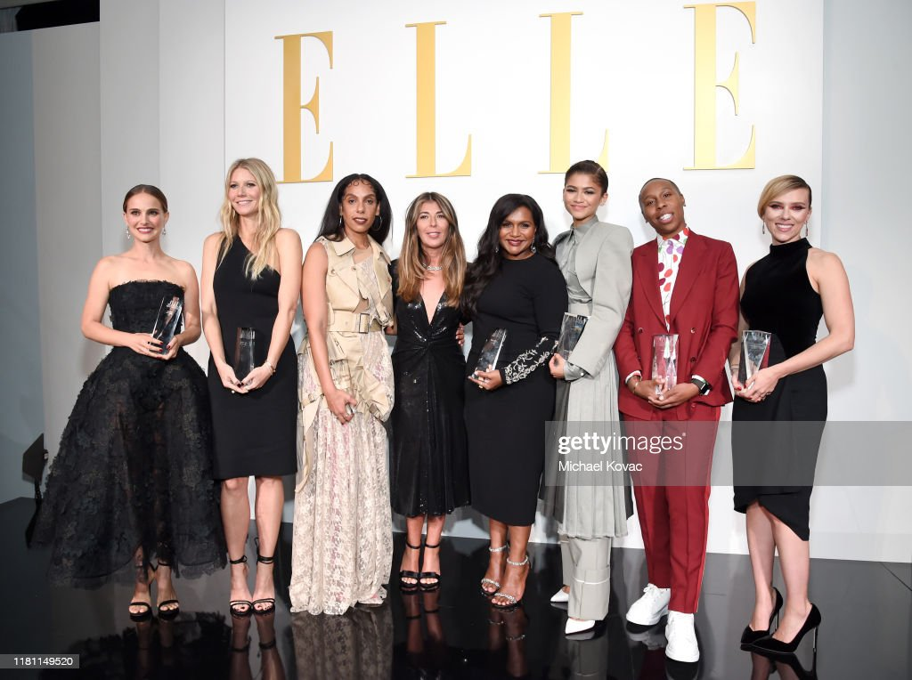 ELLE's 26th Annual Women In Hollywood Celebration Presented By Ralph Lauren And Lexus - Show : News Photo