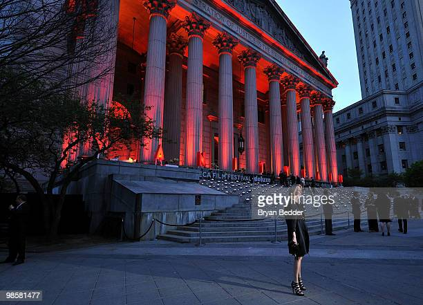 Editorinchief of Allure magazine Linda Wells attends the Vanity Fair Party during the 9th Annual Tribeca Film Festival at the New York State Supreme...
