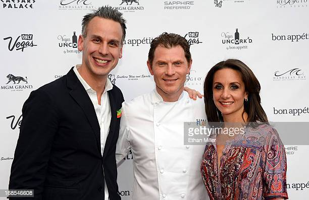 EditorinChief of Bon Appetit magazine Adam Rapoport television personality and chef Bobby Flay and Vice President and Publisher of Bon Appetit...