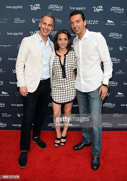 EditorinChief of Bon Appetit magazine Adam Rapoport Vice President and Publisher of Bon Appetit magazine Pamela Drucker Mann and Vice President of...