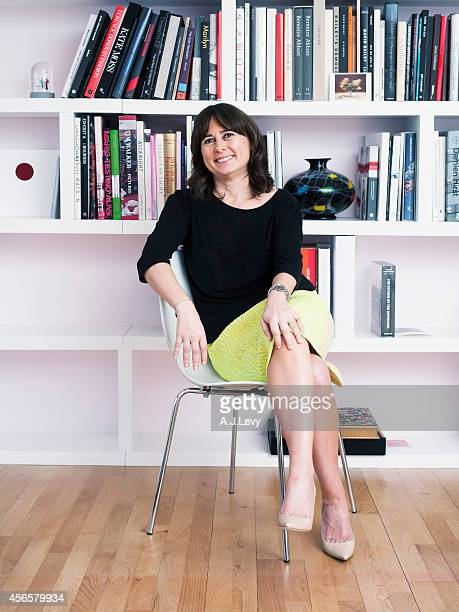 Editorinchief of British Vogue Alexandra Shulman is photographed for the Telegraph in London England
