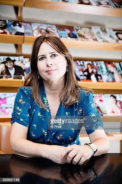 Editorinchief of British Vogue Alexandra Shulman is photographed for the Times on May 4 2016 in London England