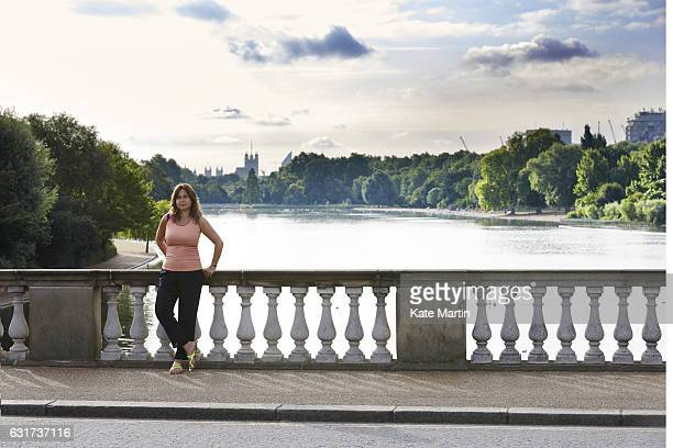 Editorinchief of British Vogue Alexandra Shulman is photographed on July 17 2016 in London England