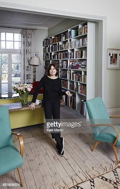 Editorinchief of British Vogue Alexandra Shulman is photographed on February 6 2015 in London England
