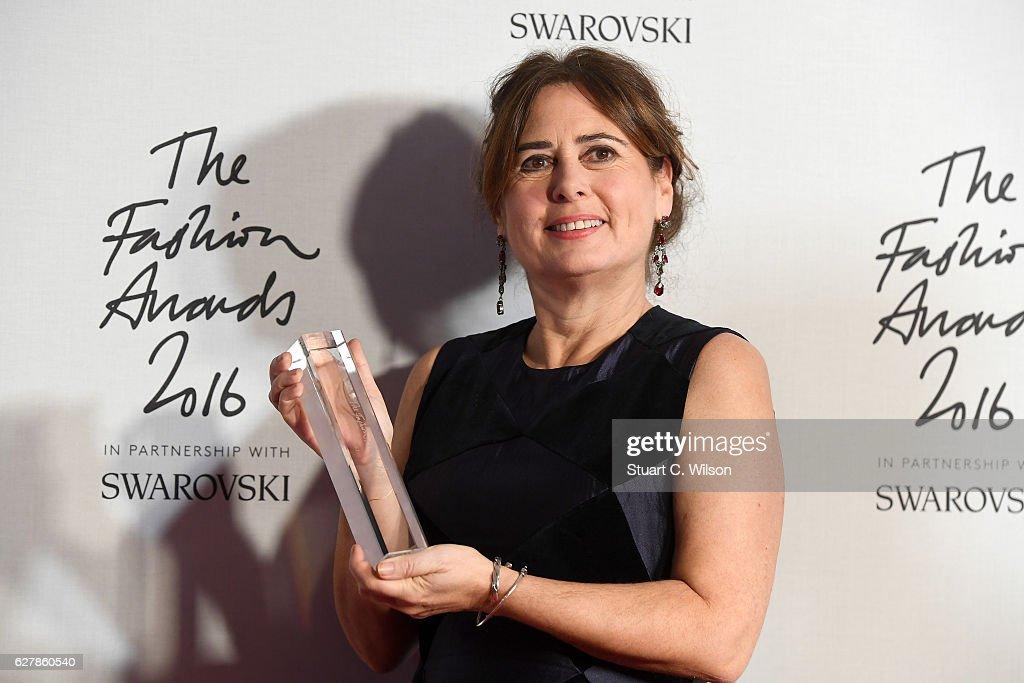 The Fashion Awards 2016 - Winners Room