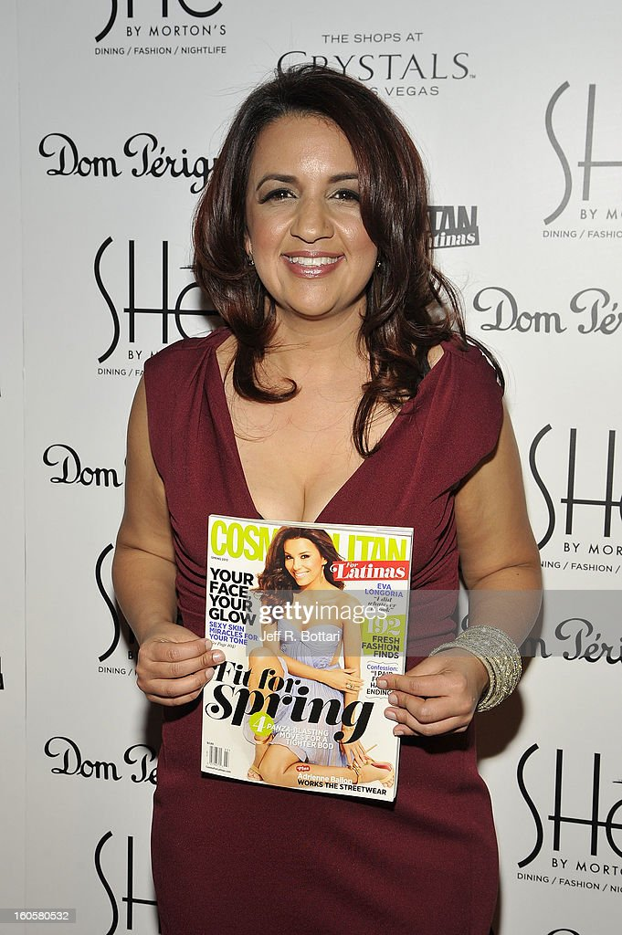 Editor-in-Chief of Cosmo for Latinas, Michelle Mulligan arrives at the grand opening of SHe by Morton's at Crystals at CityCenter on February 2, 2013 in Las Vegas, Nevada.