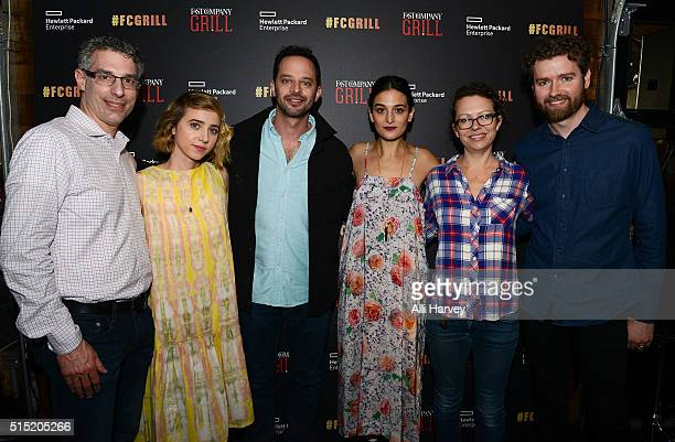 EditorinChief of Fast Company Robert Safian Actress Zoe Kazan Actor Nick Kroll Actress Jenny Slate Director Sophie Goodhart and Senior Editor of Fast...