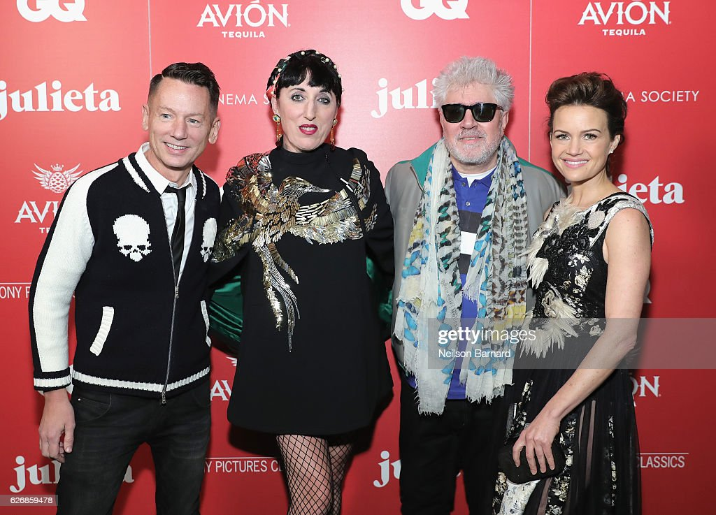 "The Cinema Society With Avion And GQ Host A Screening Of Sony Pictures Classics' ""Julieta"" - Arrivals"