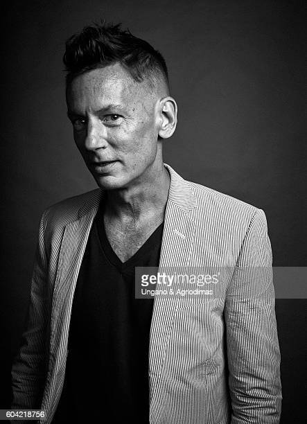 Editorinchief of GQ Magazine Jim Nelson poses for a portrait at The Daily Front Row's 4th Annual Fashion Media Awards at Park Hyatt New York on...