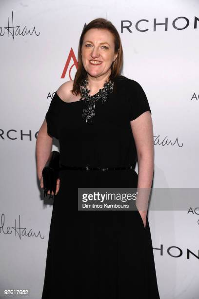 Editorinchief of Harper's Bazaar Glenda Bailey attends the 13th Annual 2009 ACE Awards presented by the Accessories Council at Cipriani 42nd Street...