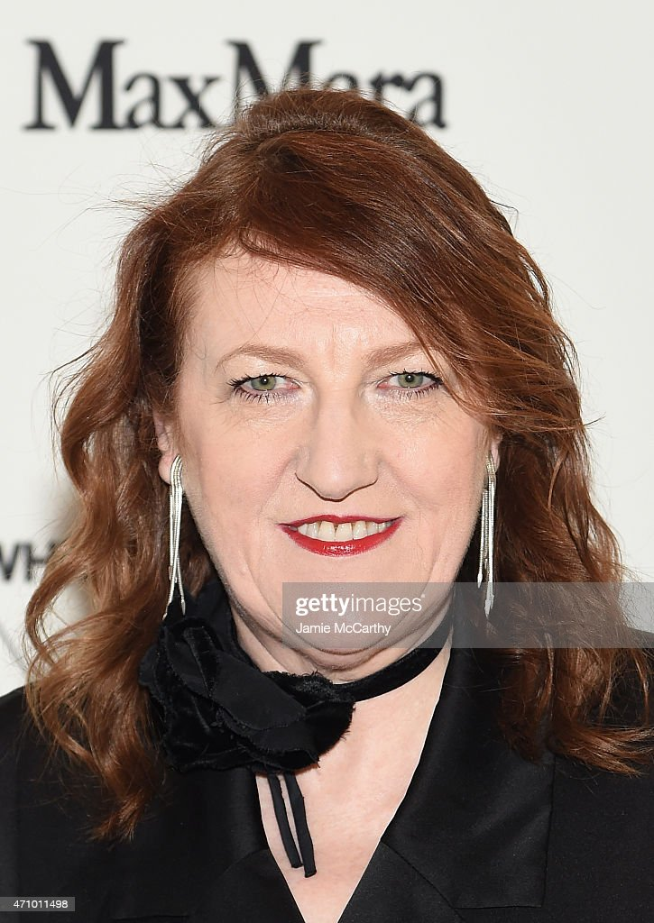 Editor-in-chief of Harper's Bazaar Glenda Bailey attends the Max Mara celebration of the opening of The Whitney Museum Of American Art at its new location on April 24, 2015 in New York City.