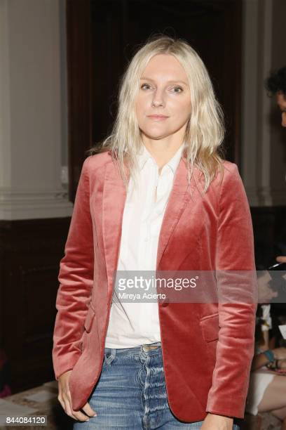 Editorinchief of InStyle Magazine Laura Brown attends the Sachin Babi fashion show during New York Fashion Week on September 7 2017 in New York City