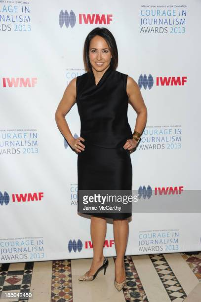 Editorinchief of Marie Claire Anne Fulenwide attends the International Women's Media Foundation's 2013 Courage In Journalism And Lifetime Achievement...