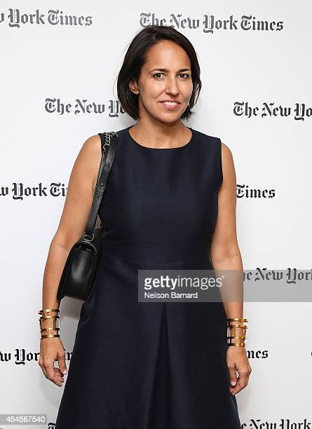 EditorinChief of Marie Claire Anne Fulenwider attends the New York Times Vanessa Friedman and Alexandra Jacobs welcome party on September 3 2014 in...