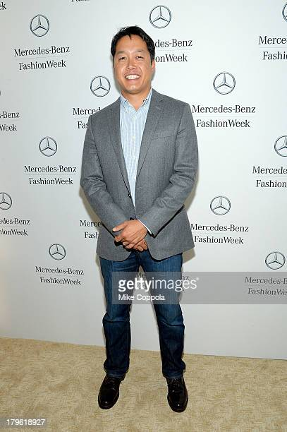 EditorInChief of Motor Trend magazine Ed Loh attends the MercedesBenz Star Lounge during MercedesBenz Fashion Week Spring 2014 at Lincoln Center on...