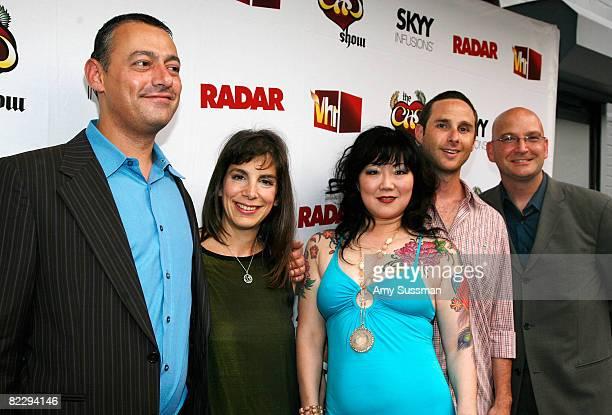 Editorinchief of Radar Maer Roshan Radar publisher Anne Perton comedian Margaret Cho executive producer Noah Pollack and associate publisher of Radar...