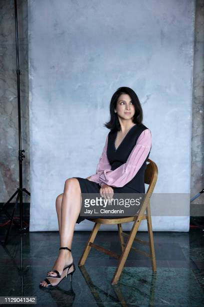Editorinchief of the Vanity Fair US Radhika Jones is photographed for Los Angeles Times on February 18 2019 in Beverly Hills California PUBLISHED...