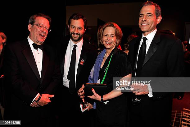 Editor-in-chief of TIME Inc, John Huey, Judd Apatow, Chairman and CEO, TIME Inc., Ann Moore and managing editor of TIME magazine, Richard Stengel...