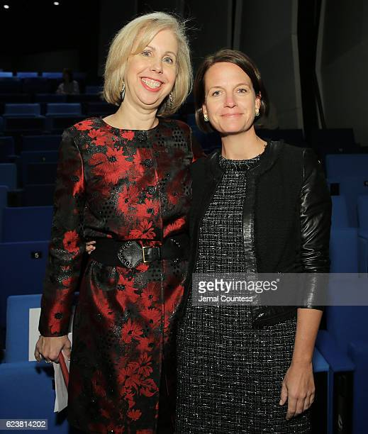 EditorinChief of Time Magazine Nancy Gibbs and General Manager at Time Magazine Meredith Long attend TIME's 100 Most Influential Photos Of All Time...