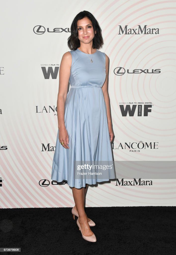 Editor-in-chief of Vanity Fair magazine Radhika Jones, wearing Max Mara, attend the Women In Film 2018 Crystal + Lucy Awards presented by Max Mara, Lancôme and Lexus at The Beverly Hilton Hotel on June 13, 2018 in Beverly Hills, California.