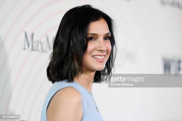 Editorinchief of Vanity Fair magazine Radhika Jones wearing Max Mara attend the Women In Film 2018 Crystal Lucy Awards presented by Max Mara Lancôme...