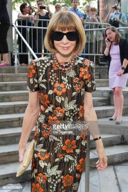 Editorinchief of Vogue Anna Wintour attends Lincoln Center's American Songbook Gala at Alice Tully Hall on May 29 2018 in New York City