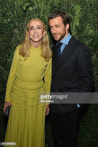EditorinChief of Vogue Italia Franca Sozzani and director Francesco Carrozzini attend the 'Franca Chaos and Creation' New York Screening at...