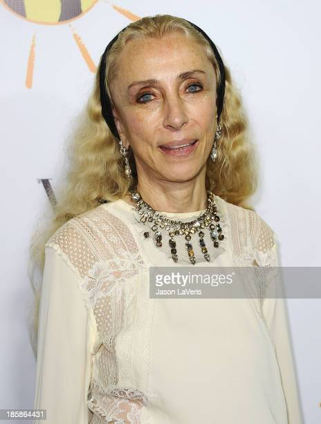 Editor-in-chief of Vogue Italia Franca Sozzani attends the Dream For Future Africa Foundation gala at Spago on October 24, 2013 in Beverly Hills,...