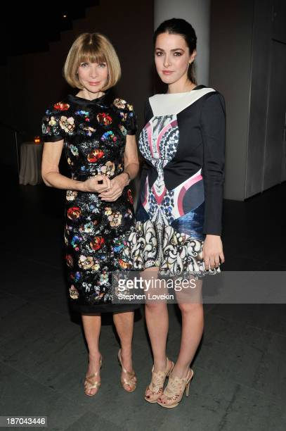 EditorinChief of Vogue Magazine Anna Wintour and her daughter Bee Shaffer attend The Museum of Modern Art Film Benefit A Tribute to Tilda Swinton...