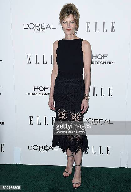EditorinChief Robbie Myers arrives at the 23rd Annual ELLE Women In Hollywood Awards at Four Seasons Hotel Los Angeles at Beverly Hills on October 24...