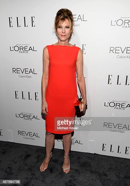 EditorinChief Robbie Myers attends ELLE's 21st Annual Women in Hollywood Celebration at the Four Seasons Hotel on October 20 2014 in Beverly Hills...