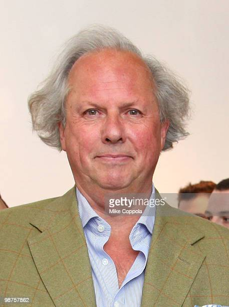 """Editor-in-chief U.S. Vanity Fair Graydon Carter attends the art show """"Theurgy"""" at the Elga Wimmer Gallery on April 29, 2010 in New York City."""
