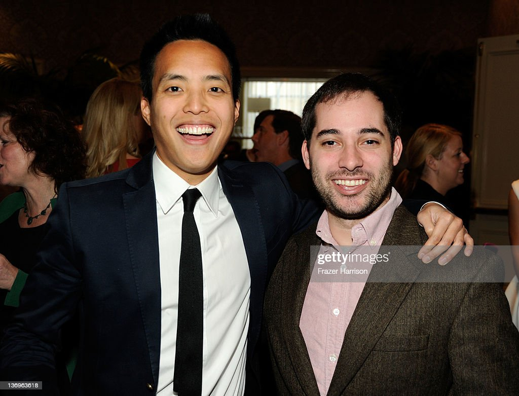 Editors Alan Yang and Harris Wittels attend the 12th Annual AFI Awards held at the Four Seasons Hotel Los Angeles at Beverly Hills on January 13, 2012 in Beverly Hills, California.