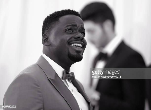 [Editor's Note Image Has Been Converted to Black and White] Daniel Kaluuya attends the Heavenly Bodies Fashion The Catholic Imagination Costume...
