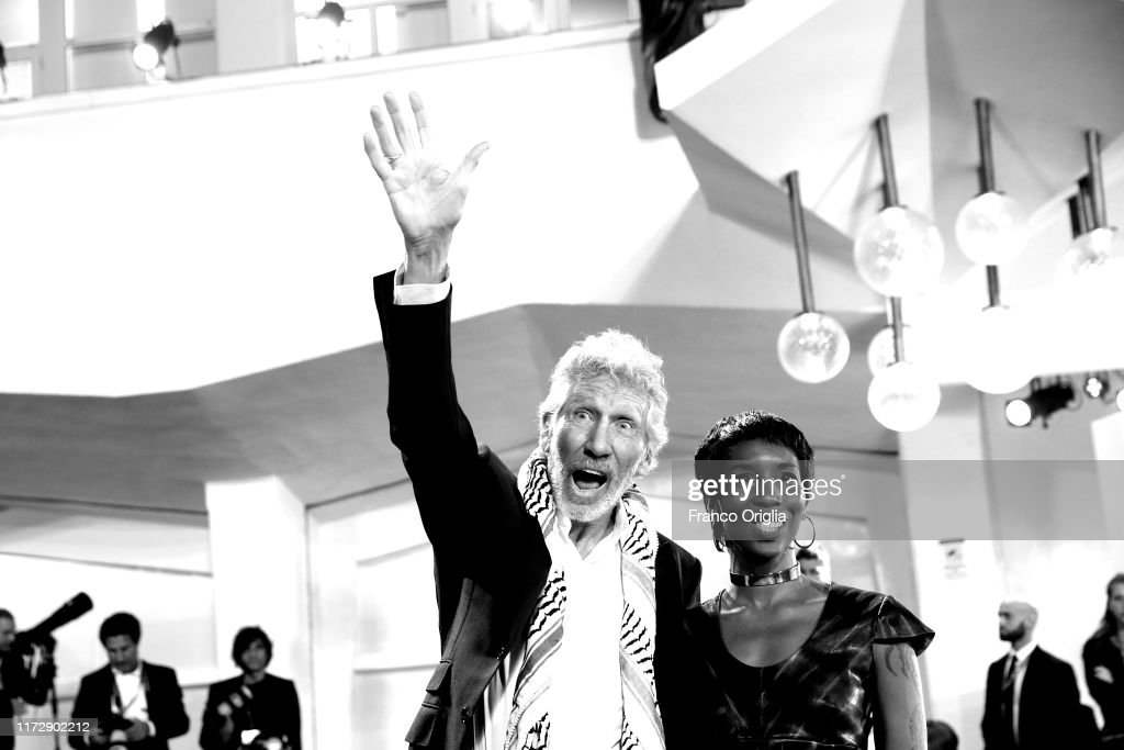 """""""Roger Waters Us + Them"""" Red Carpet Arrivals - The 76th Venice Film Festival : News Photo"""
