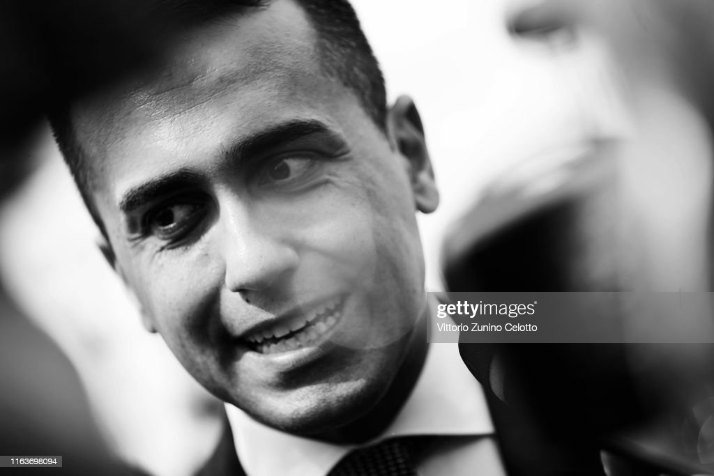 Italian Minister Of Economic Development Luigi Di Maio At Giffoni Film Festival : Foto di attualità