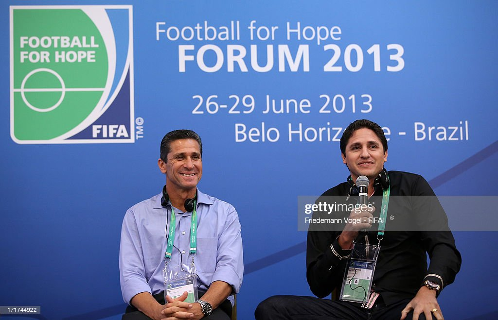 2nd FIFA Football For Hope Forum- FIFA Confederations Cup Brazil 2013 : ニュース写真