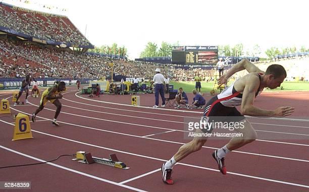 WM 2001 Edmonton 400m/MAENNER Ingo SCHULTZ/GER SILBER