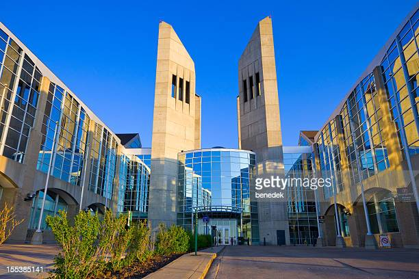 edmonton canada grant macewan university - alberta stock pictures, royalty-free photos & images
