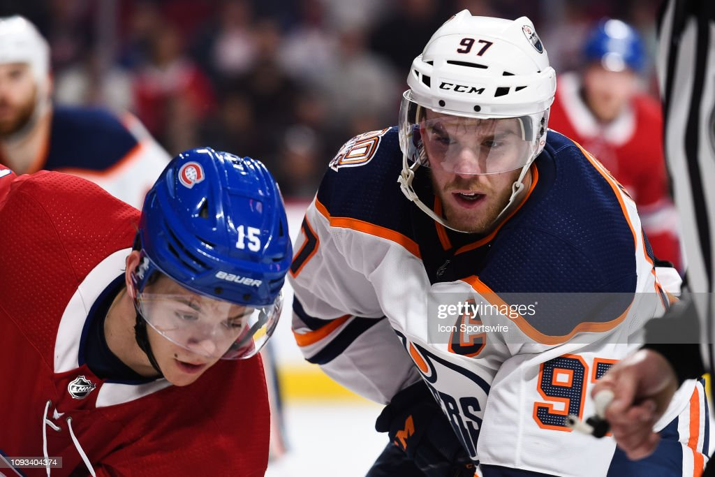 NHL: FEB 03 Oilers at Canadiens : News Photo