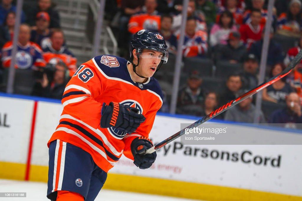NHL: NOV 13 Canadians at Oilers : News Photo