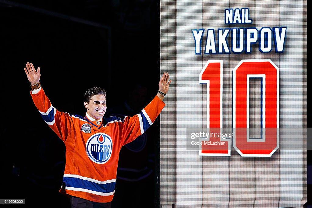 Vancouver Canucks v Edmonton Oilers