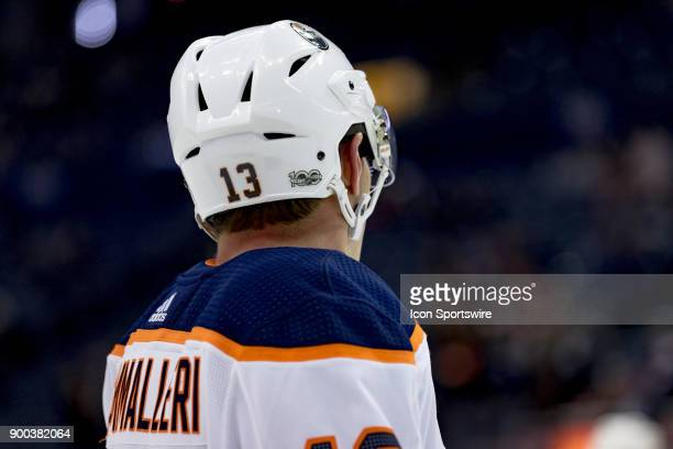Edmonton Oilers left wing Michael Cammalleri before a game between the Columbus Blue Jackets and the Edmonton Oilers on December 12 2017 at...