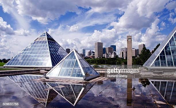 Edmonton rooftops