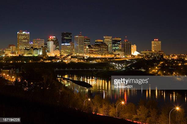 Edmonton Skyline at Night