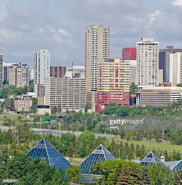 Edmonton Skyline Editorial