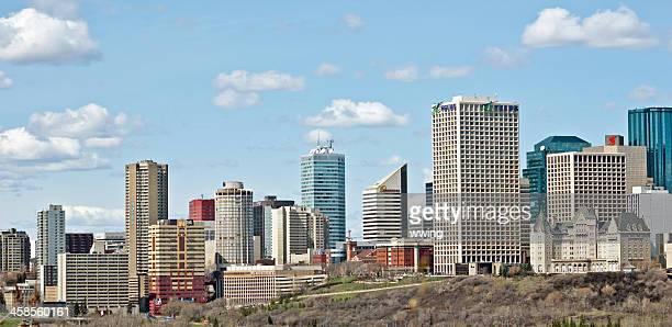 Edmonton Skyline in April