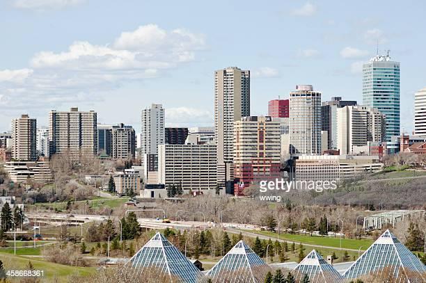 Edmonton Skyline in Spring