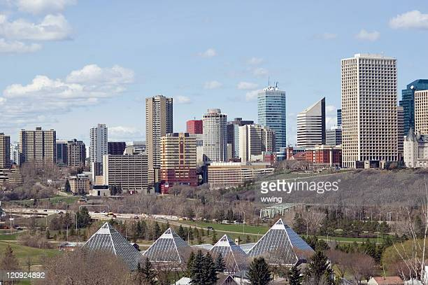 Edmonton Skyline in the Early Spring