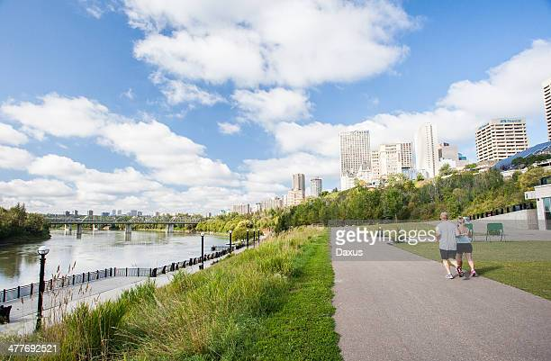 edmonton skyline - edmonton stock pictures, royalty-free photos & images